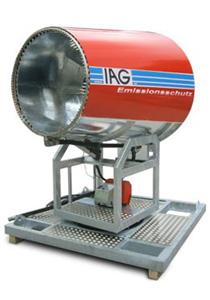 Emissionsschutz mit Staubbindemaschine IAG ESM1000