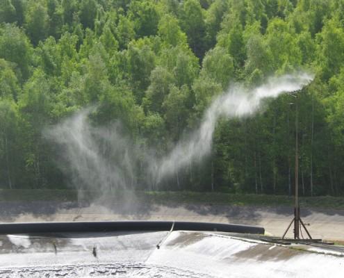 IAG Emissionsschutzlanze ESL im Einsatz