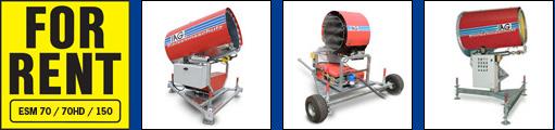 Alternativtext: Staubbindemaschinen vom Typ IAG ESM zur Miete für temporäre Bau- und Abrissarbeiten