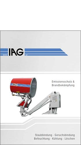 IAG Produkte Staubbindung im Niederdruck- sowie Hochdruckbereich